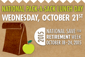 National Pack-a-Sack Lunch Day