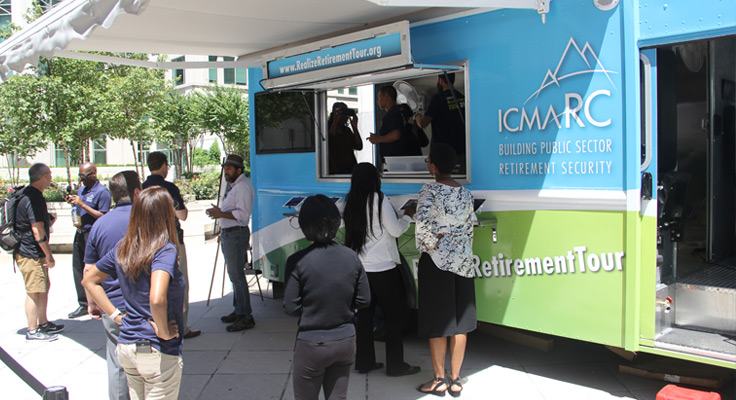 ICMA-RC Virtual Reality RealizeRetirement® Tour Continues to Roll Cross County