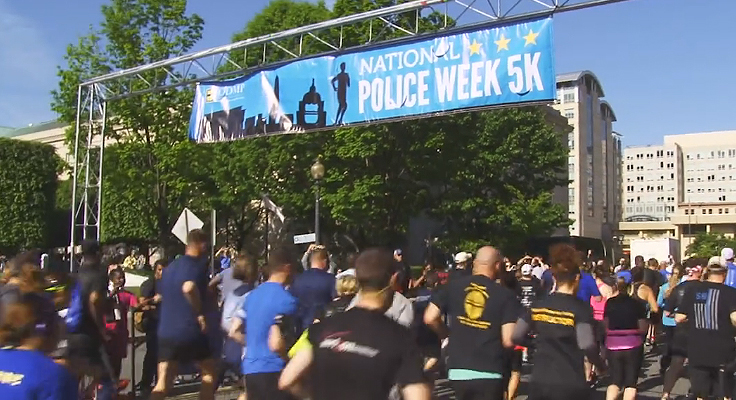 ICMA-RC Associates Run to Honor Fallen Police Officers and Recognize Public Service